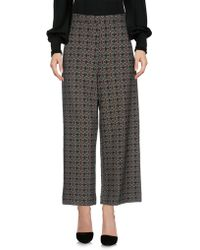 Anonyme Designers - 3/4-length Trousers - Lyst