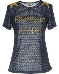 Patrizia Pepe - T-shirt - Lyst