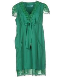 22 Maggio By Maria Grazia Severi - Knee-length Dress - Lyst