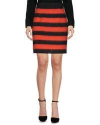 Les Copains - Knee Length Skirts - Lyst