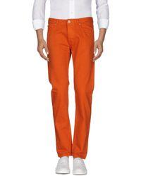 C P Company - Denim Pants - Lyst
