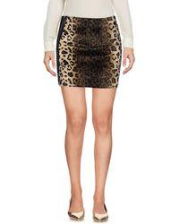 Met - Mini Skirt - Lyst