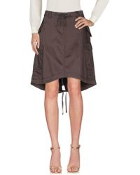 Timberland - Knee Length Skirt - Lyst