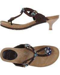 Maliparmi - Toe Post Sandal - Lyst