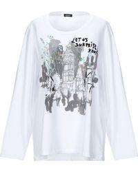 Elena Miro - T-shirt - Lyst