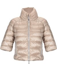 CafeNoir - Synthetic Down Jacket - Lyst