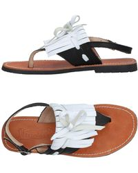 Virreina - Toe Post Sandal - Lyst
