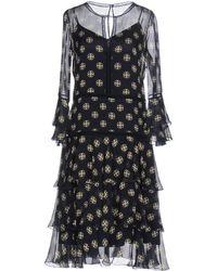 Alberta Ferretti - Knee-length Dress - Lyst