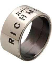 John Richmond - Rings - Lyst