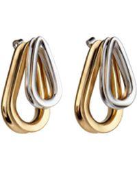 Annelise Michelson Trilliptic Bicolour Loop Earrings fSb5S