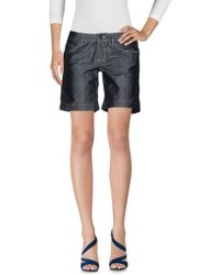 Peuterey - Denim Shorts - Lyst
