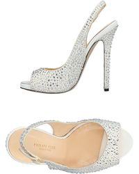 Sandales Blanc