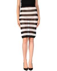 Annie P - 3/4 Length Skirt - Lyst