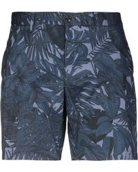 Michael Kors - Tropical Stretch-cotton Shorts - Lyst