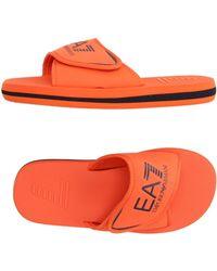 EA7 - Slippers - Lyst