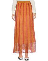 Stefanel - Long Skirt - Lyst