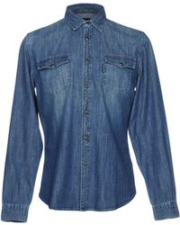Hydrogen - Denim Shirts - Lyst