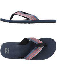 Billabong - Toe Strap Sandals - Lyst