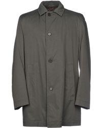 BOSS Black - Overcoat - Lyst