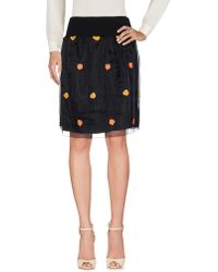 Carla G - Knee Length Skirt - Lyst