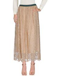 Aglini - Long Skirts - Lyst