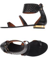 Mugnai - Toe Strap Sandal - Lyst