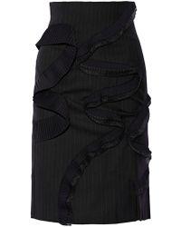 Facetasm - 3/4 Length Skirt - Lyst