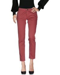CafeNoir - Casual Pants - Lyst
