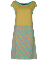Fontana Couture - Short Dress - Lyst