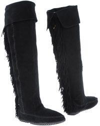 christian louboutin gazolina over the knee boots