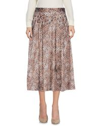 Relish - 3/4 Length Skirts - Lyst