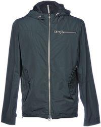Low Brand - Overcoat - Lyst