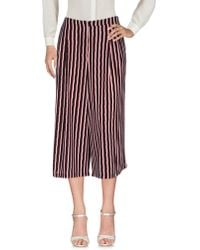 Cutie - 3/4-length Trousers - Lyst