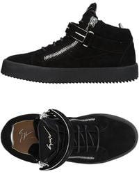 Giuseppe Zanotti - Sneakers abotinadas - Lyst