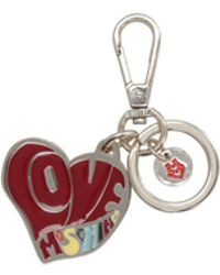 Love Moschino - Key Rings - Lyst