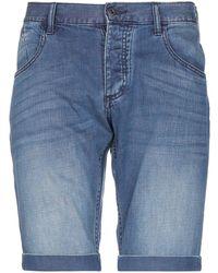 Armani Jeans - Denim Bermudas - Lyst