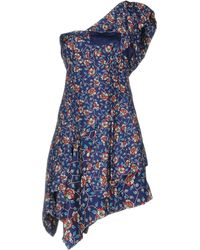Isabel Marant - Short Dress - Lyst