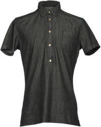 Hydrogen - Denim Shirt - Lyst
