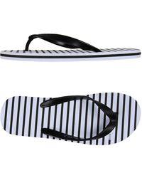 Armani Jeans - Toe Strap Sandal - Lyst