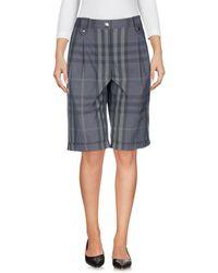 Burberry - Bermuda Shorts - Lyst