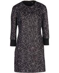 Neil Barrett - Star Print Shift Dress - Lyst