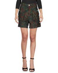 People - (+) People Bermuda Shorts - Lyst
