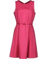 Tru Trussardi - Short Dress - Lyst