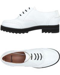 Jil Sander Navy - Lace-up Shoe - Lyst