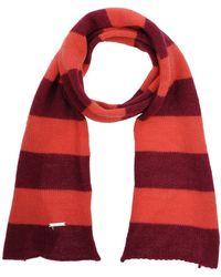 stripe detail scarf - Red Liu Jo EYoWqmx