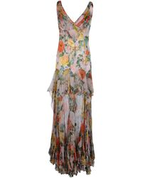 Victorio & Lucchino - Long Dress - Lyst