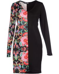 I Ragazzi Del Rosso - Short Dress - Lyst