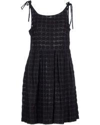 Karen Walker - Short Dress - Lyst