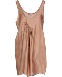 Novemb3r - Short Dress - Lyst