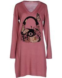 Ean 13 - Short Dress - Lyst